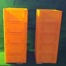 공구상자 용적 27리터짜리 10개(바닥구멍5개)