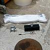 자석홀더 슬링벨트 샤클 각각 1개씩 고철 골동품 낚시